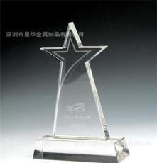 水晶握手奖杯厂家直销,深圳专业水晶加工厂,水晶礼品,奖牌