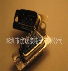 -1高密度D-SUB15PIN實心針公插頭