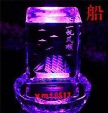 3d水晶内雕 水晶汽车内雕/楼模内雕 精品水晶礼品摆件 商务礼品