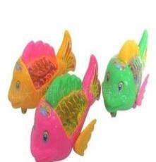 (工廠直銷)供應0451真伙伴盒裝拉線燈光魚新玩具糖果
