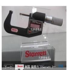 施泰力 starrett 公英制 数显外径千分尺 733MEXFL-25