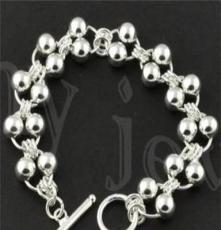 北京首飾批發,飾品代發 時尚銀飾,925銀手鏈SL0055