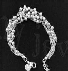 北京首飾批發,飾品代發 時尚銀飾,925銀手鏈SL0022