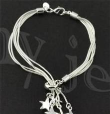 北京首飾批發,飾品代發 時尚銀飾,925銀手鏈SL0059