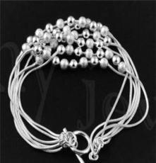 北京首飾批發,飾品代發 時尚銀飾,925銀手鏈SL0026