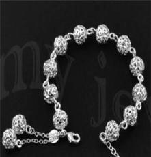 北京首飾批發,飾品代發 時尚銀飾,925銀手鏈SL0020