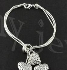 北京首飾批發,飾品代發 時尚銀飾,925銀手鏈SL0057
