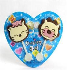 韓國進口食品批發 海太貓咪巧克力 27g*36