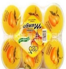 馬來西亞EGO益果果凍芒果味600g*16盒/箱進口食品批發