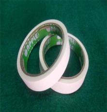 棉纸双面胶带 美纹纸胶带 超强粘性撕毁无痕 18mm宽 办公用品批发