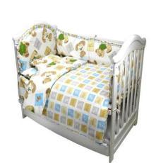 厂家直销可定做宝宝床品 婴童床品全棉套件10件套 手工做棉花内胆