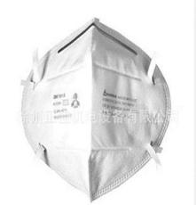 3M9010折叠式颗粒物防护口罩(头带式) 免保养防护口罩
