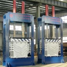 鋁制紙質木質板材曲面熱壓機廠家青島國森