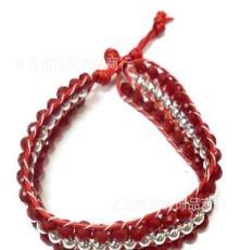 供應時尚手鏈首飾、多種顏色 編織手鏈
