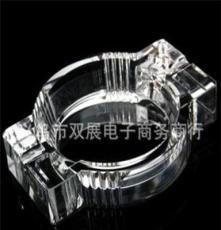 水晶工藝品 送男友 送父親 戒煙 橢圓形水晶煙灰缸