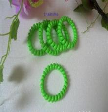 TS1107电话线发圈皮筋批发日韩糖果头绳超热卖义乌饰品发饰大号粗
