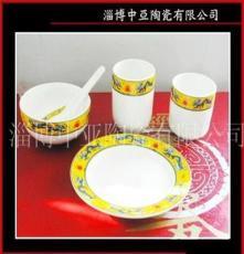 厂家直销 加厚镁质强化瓷 消毒餐具 淄博餐具 山东餐具