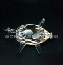 水晶小動物 十二生肖小豬 專業生產批發