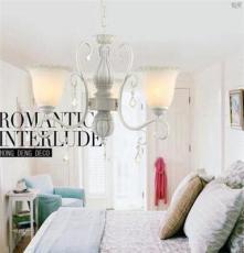 客厅灯 欧式吊灯 现代简约复式楼水晶灯饰 别墅卧室灯具厂家批发