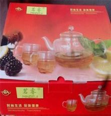 禮品玻璃套組 高檔玻璃茶具 促銷品