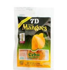 菲律賓原裝進口食品 7D芒果干 熱帶果脯兒童食品 100g 零食 批發