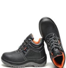 真皮勞保鞋 工作鞋 防砸安全鞋 防刺 耐油 耐酸堿 中幫鞋