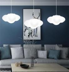 云朵灯床头吊灯卧室儿童房 白云北欧现代简约温馨浪漫