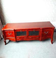 厂家直销高档美式实木电视柜 视听柜 各类美式家具定做
