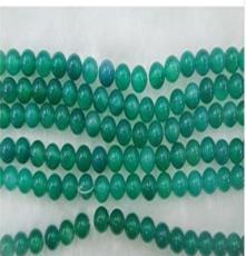 天然水晶半成品散珠批发DIY手链项链AAA级8mm绿玛瑙散珠