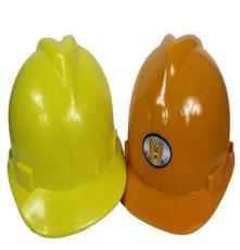 PE安全帽高密度聚乙烯V型防护帽安全帽电力建筑施工安全帽可印字