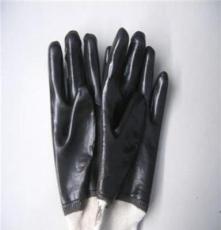 德州精彩 防護手套 低價熱賣 平整 PVC羅口浸膠手套