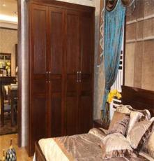 全实木床现代新中式家具1.8m榆木床厚重双人床1.5米气压储物高箱