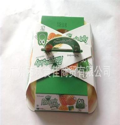 韓國進口果凍 菠蘿味2杯裝180g 林食佳食品批發商