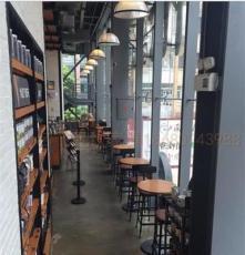 供应名飞星巴克餐厅桌椅 星巴克咖啡厅风格的桌椅 广州星巴克家具