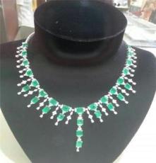 直销祖母绿宝石项链,周大福祖母绿戒指,天然祖母绿