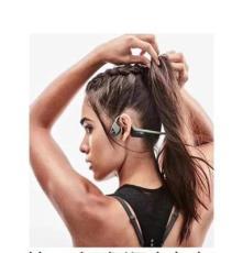 韶音AfterShokz AS650骨传导蓝牙耳机运动耳机郑州专卖店总代