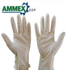 供应爱马斯AMMEX 一次性无粉麻面乳胶防护手套标准型 TLFC