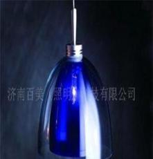 吊线玻璃灯,家居餐吊灯具灯饰,西餐厅灯饰,商照灯