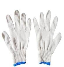 出口A级灯罩棉400克线手套 优质纱手套劳保手套防护手套棉纱手套