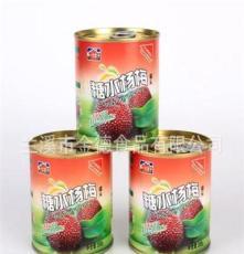 兰溪厂家供应热销水果罐头 优质罐头 铁制杨梅罐头
