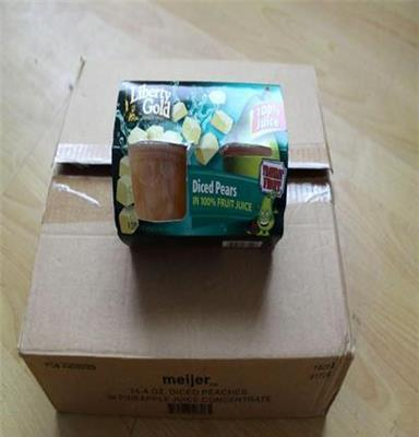 洋梨水果果汁罐頭4*113g 美國進口品牌商品 直銷 零食 休閑食品
