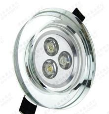 浦江水晶基地 天花灯水晶外壳 LED外壳套件 LED方形天花水晶灯