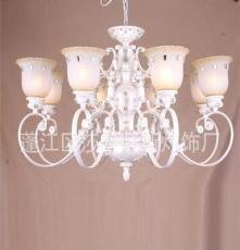 莎普旺斯 歐式仿古鑲鉆水晶大吊燈 酒店高檔燈飾 臥室大吊燈
