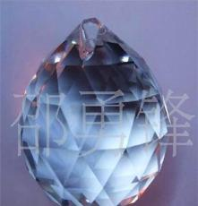 厂家直销 水晶配件 水晶灯饰球40#水晶挂件价格