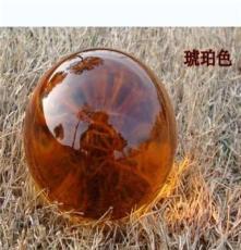 优质供应 优质供应琥珀色水晶球 精美内雕水晶球 水晶工艺品