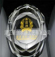 厂家直销 新款水晶烟灰缸 水晶三层个性时尚水晶烟缸 送礼精品