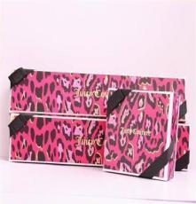 首饰包装 批发 手链盒 项链盒 小额混批 新款 粉色豹纹盒子