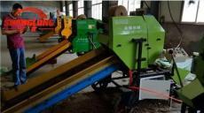 玉米秸秆青储打捆包膜一体机 全自动化设备