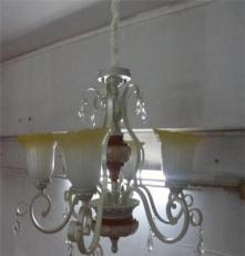 铁艺树脂吊灯配LED光源用于酒店走廊大堂庭院复古式建筑街道照明