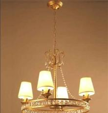 厂家热销欧美时尚卧室客厅书房水晶吊灯